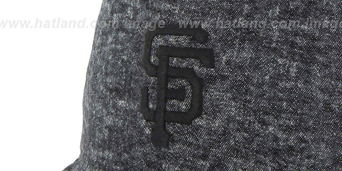 SF Giants 'LEDGEBROOK BUCKET' Black Hat by Twins 47 Brand