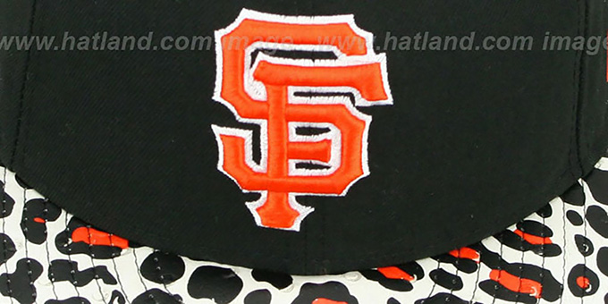 SF Giants 'OSTRICH-LEOPARD STRAPBACK' Hat by New Era
