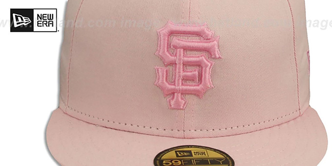 SF Giants 'PINKOUT' Fitted Hat by New Era