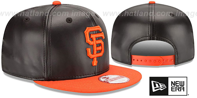 SF Giants 'SMOOTHLY STATED SNAPBACK' Black-Orange Hat by New Era