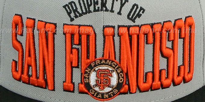 SF Giants 'TEAM-PRIDE' Grey-Black Fitted Hat by New Era