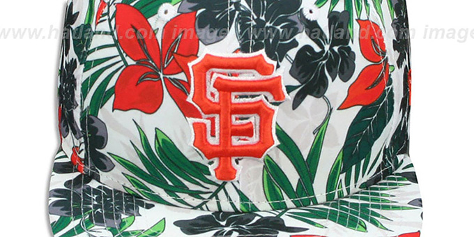 SF Giants 'TROPTRIP BLOOM SNAPBACK' Hat by New Era