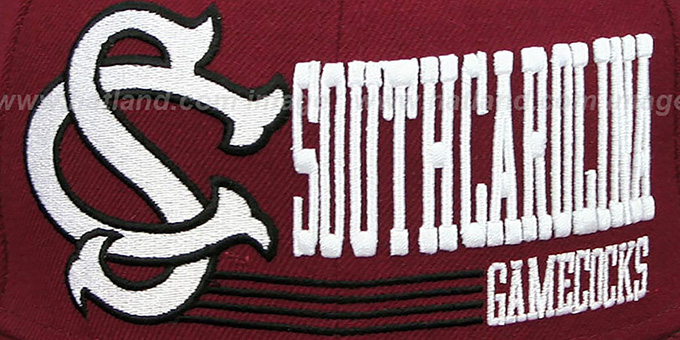 South Carolina 'RETRO-SNAPBACK' Burgundy Hat by New Era