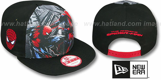Spiderman 'SUB FRONT SNAPBACK' Adjustable Hat by New Era