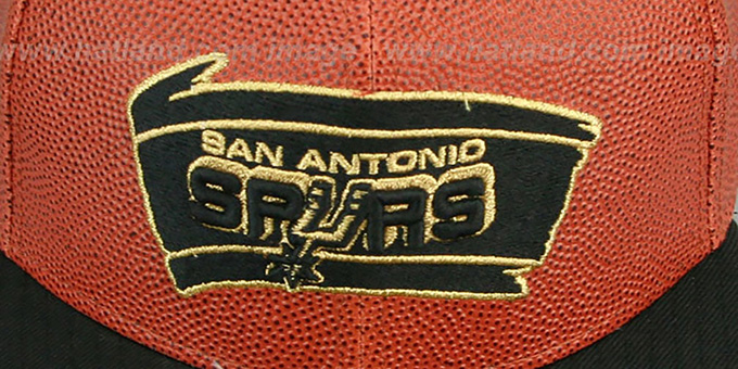 San Antonio Spurs BASKET-BALLIN Fitted Hat by New Era 003036d44024