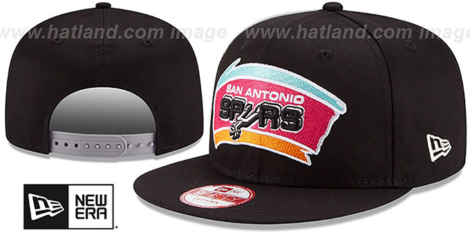 Spurs 'PANEL PRIDE SNAPBACK' Hat by New Era