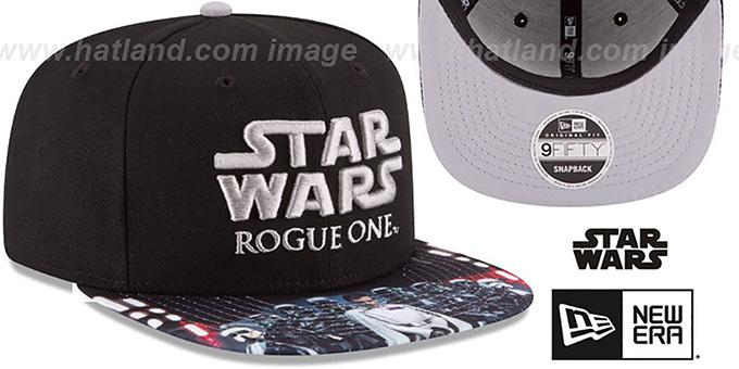 Star Wars ROGUE ONE VILLAIN SNAPBACK Black Hat by New Era 7d101fa680b9