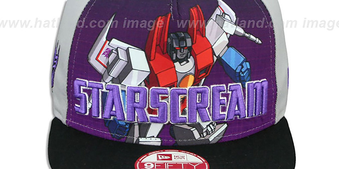 Starscream 'SUB-RIVAL SNAPBACK' Adjustable Hat by New Era