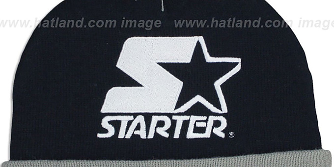 Starter 'S-STAR BEANIE' Navy Knit Hat