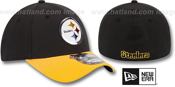 Steelers '2015 NFL DRAFT FLEX'  Hat by New Era