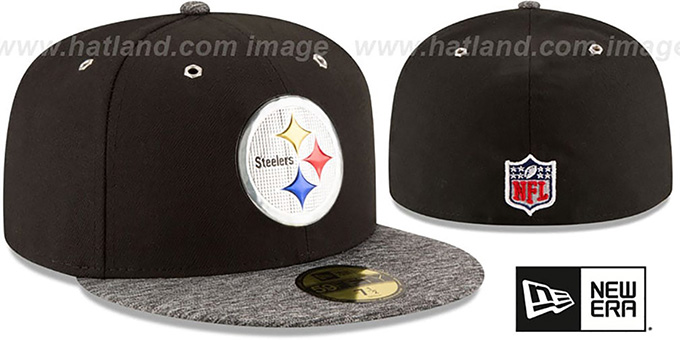 Steelers '2016 NFL DRAFT' Fitted Hat by New Era