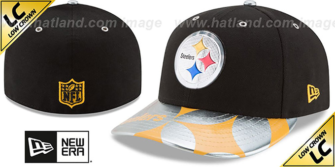 Steelers '2017 LOW-CROWN SPOTLIGHT' Fitted Hat by New Era