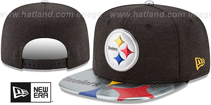 detailed look 4012f a9950 ... usa steelers 2017 nfl onstage snapback hat by new era 5ef1b 816c3