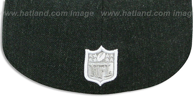 Steelers '2T-HEATHER ACTION' Charcoal-Grey Fitted Hat by New Era