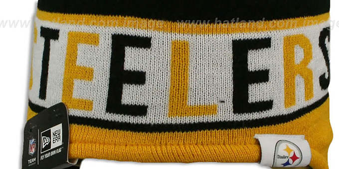 Steelers 'CRAYON BOX' Knit Beanie Hat by New Era
