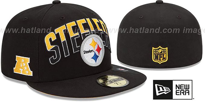 Steelers 'NFL 2013 DRAFT' Black 59FIFTY Fitted Hat by New Era