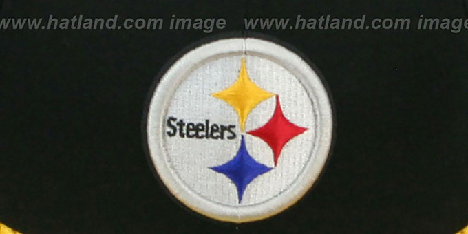 Steelers 'NFL JERSEY-BASIC' Black-Gold Fitted Hat by New Era