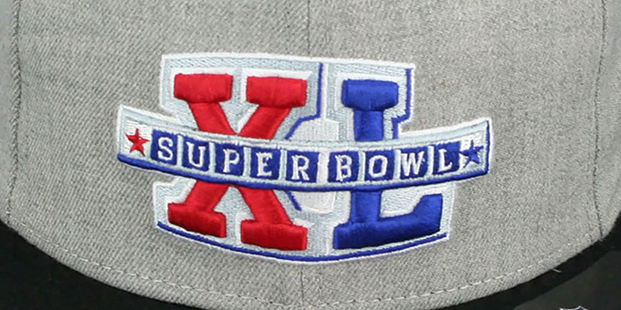 Steelers 'SUPER BOWL XL SNAPBACK' Grey-Black Hat by New Era