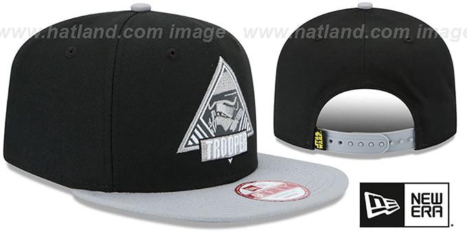05a4312313bd9 ... Storm Trooper  TRIFECT SNAPBACK  Black-Grey Hat by New Era ...