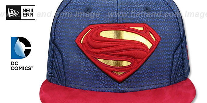 Superman 'CHARACTER JUSTICE LEAGUE' Fitted Hat by New Era