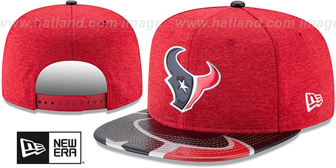 online store f87ec 288cc Houston Texans 2017 NFL ONSTAGE SNAPBACK Hat by New Era