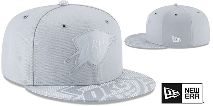 Thunder '2018 NBA ONCOURT ALL-STAR' Grey Fitted Hat by New Era