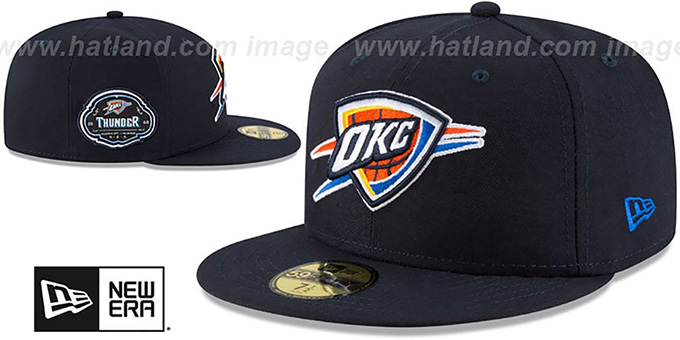 Thunder 'TEAM-SUPERB' Navy Fitted Hat by New Era