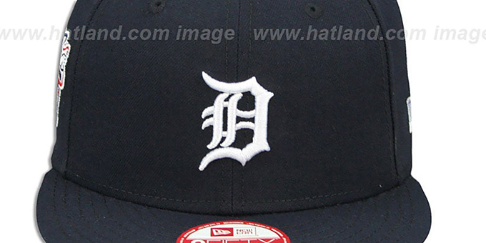 Tigers 'LEAGUE REPLICA HIOME SNAPBACK' Hat by New Era