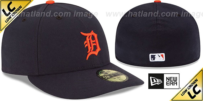 Tigers 'LOW-CROWN' ROAD Fitted Hat by New Era