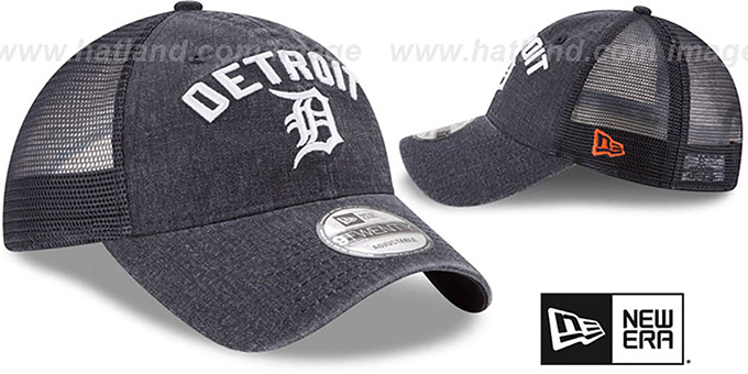 Tigers 'RUGGED-TEAM TRUCKER SNAPBACK' Navy Hat by New Era