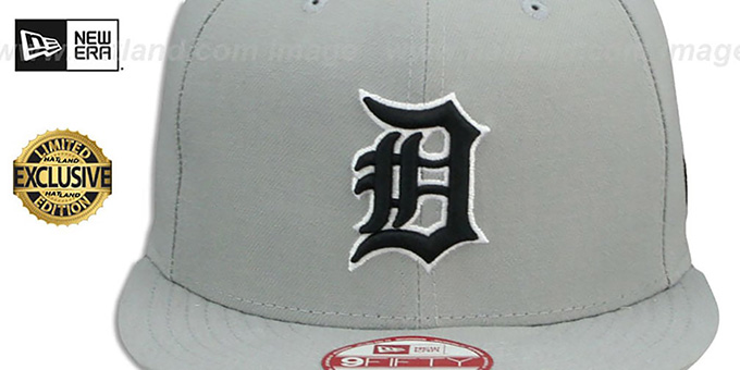 Tigers 'TEAM-BASIC SNAPBACK' Grey-Black Hat by New Era