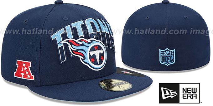 Titans 'NFL 2013 DRAFT' Navy 59FIFTY Fitted Hat by New Era