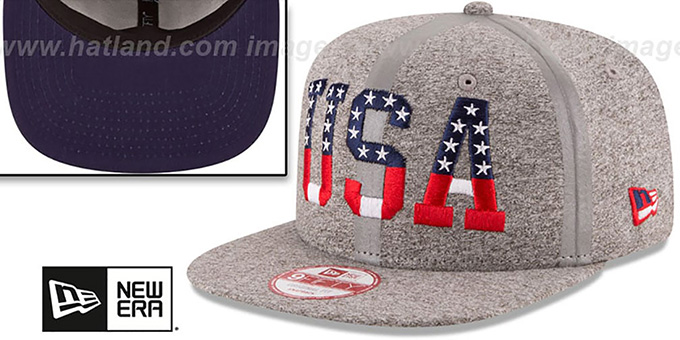 3480c5f5d3a81 ... United States  PRIDE FLECT SNAPBACK  Grey Hat by New Era ...