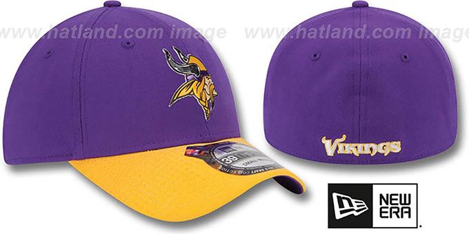 Minnesota Vikings 2015 NFL DRAFT FLEX Hat by New Era efeba3a6252