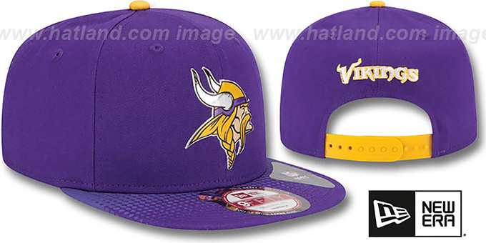 Vikings '2015 NFL DRAFT SNAPBACK' Purple Hat by New Era