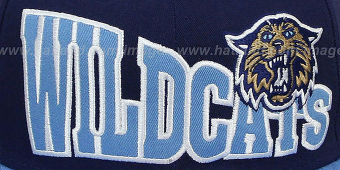 Villanova 'STOKED SNAPBACK' Navy-Sky Hat by New Era