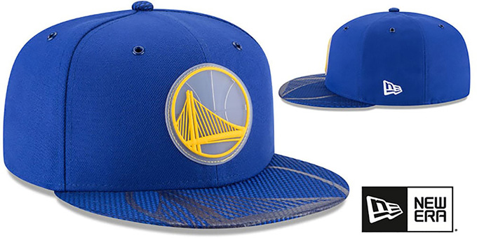 Warriors '2018 NBA ONCOURT ALL-STAR' Royal Fitted Hat by New Era