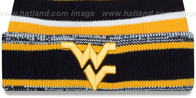 West Virginia 'NCAA-STADIUM' Knit Beanie Hat by New Era