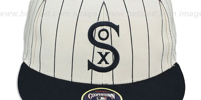 White Sox '1917 COOPERSTOWN ' Fitted Hat by Twins 47 Brand