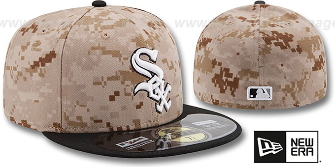 Chicago White Sox 2014 STARS N STRIPES Fitted Hat by New Era 888df0ef2e9