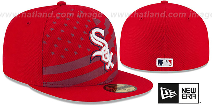 White Sox '2015 JULY 4TH STARS N STRIPES' Hat by New Era