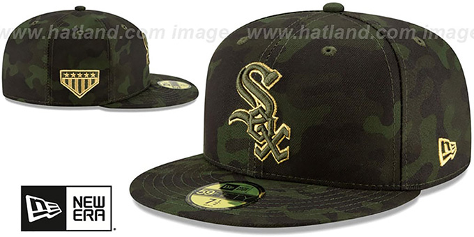 White Sox 2019 ARMED FORCES 'STARS N STRIPES' Hat by New Era