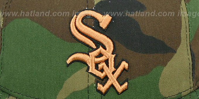 White Sox 'ARMY CAMO' Fitted Hat by New Era