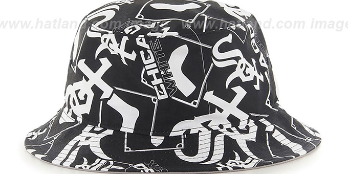 White Sox 'BRAVADO BUCKET' Hat by Twins 47 Brand