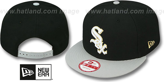 White Sox 'CHAMPS-HASH SNAPBACK' Black-Grey Hat by New Era