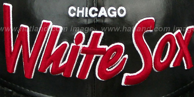 White Sox COOP 'REDUX SNAPBACK' Black Hat by New Era