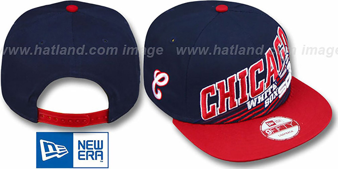 White Sox COOP 'STILL ANGLIN SNAPBACK' Navy-Red Hat by New Era
