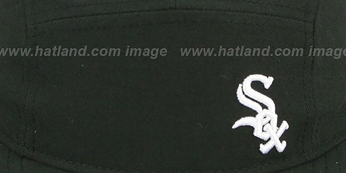 White Sox 'FLAWLESS CAMPER STRAPBACK' Black Hat by New Era