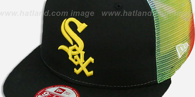 Chicago White Sox MESH TYE-DYE SNAPBACK Hat by New Era 2f474772f600