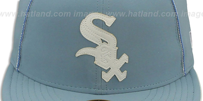 White Sox 'SKY BLUE DaBu' Fitted Hat by New Era